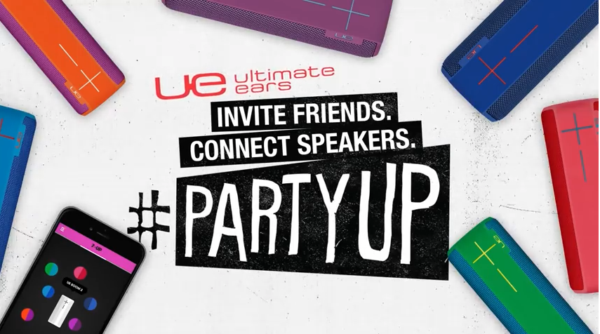 Ultimate Ears #PartyUp - Connect up to 200 speakers
