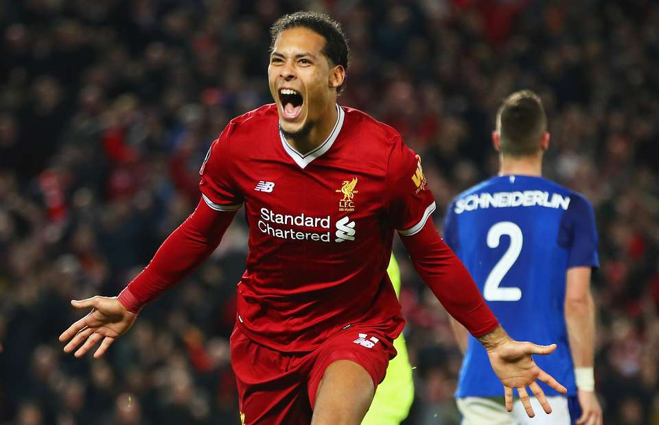 BT Sports interview with Virgil van Dijk (Liverpool) featuring 'Atlas' By Lane 8